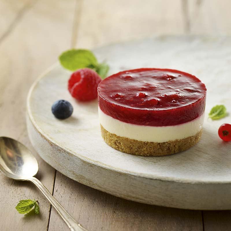 Cheesecake Fruits Rouges - Traiteur de Paris