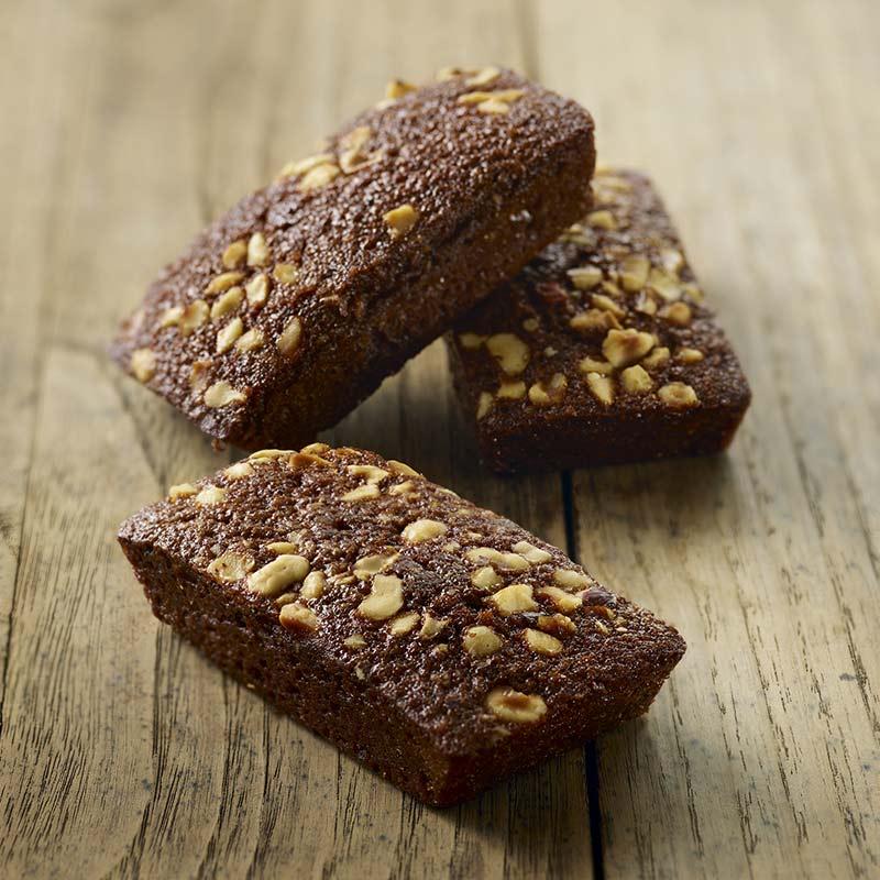 Financier Pur Beurre Chocolat Noisette - Traiteur de Paris
