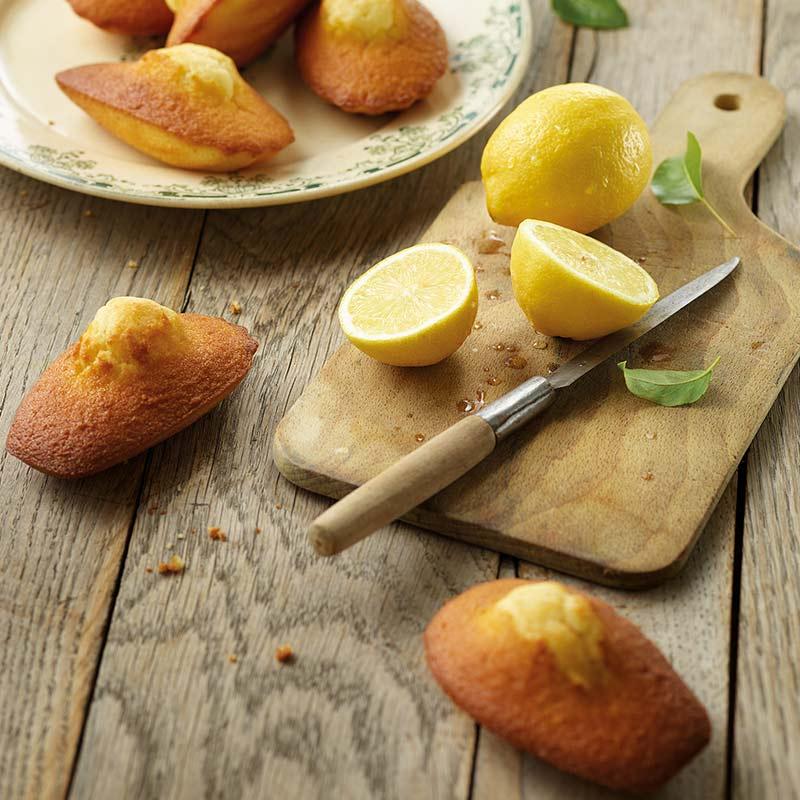 Grande Madeleine Pur Beurre Citron - Traiteur de Paris